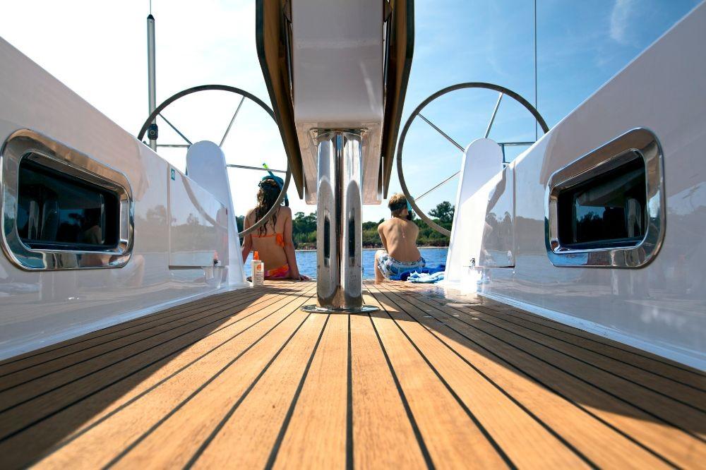 Boat rental Corfù cheap Cruiser 41