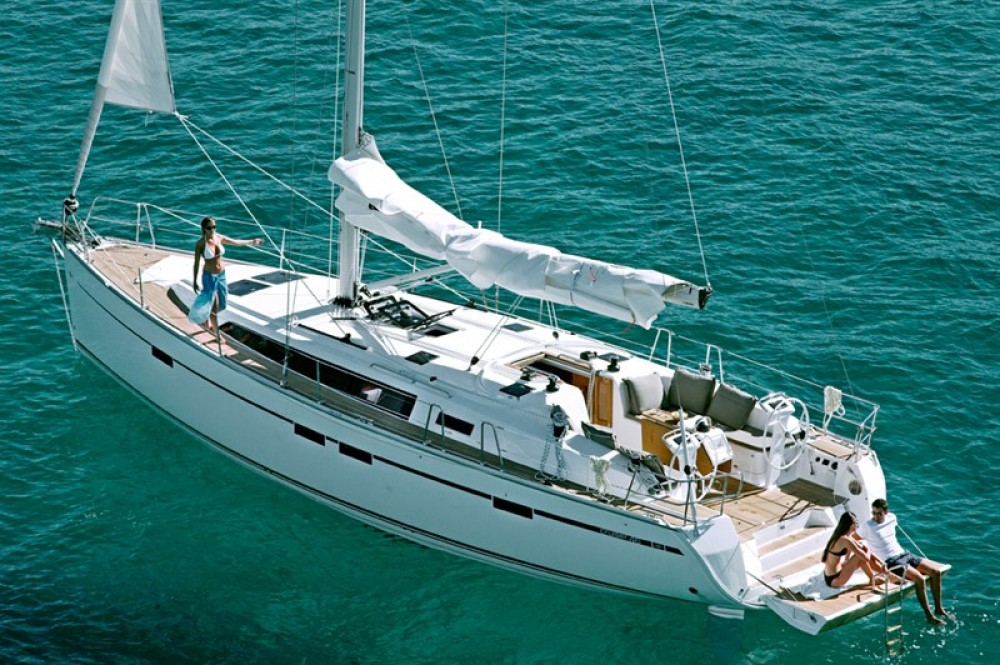 Bavaria Cruiser 46 between personal and professional Corfu