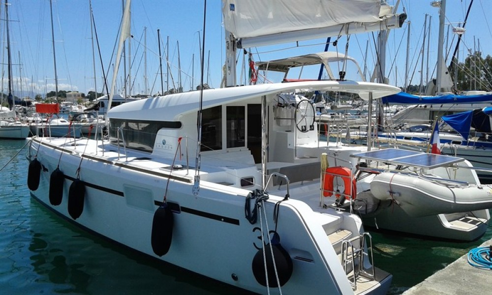 Rental yacht Corfu - Lagoon Lagoon 39 on SamBoat
