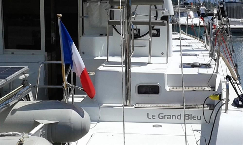 Boat rental Corfu cheap Lagoon 39