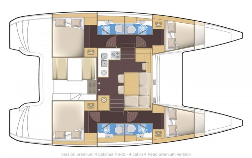 Rental Catamaran in Corfu - Lagoon Lagoon 39