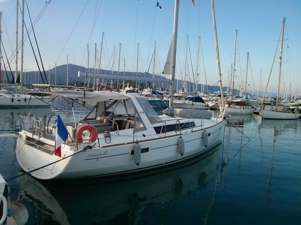 Boat rental Corfu cheap Oceanis 41