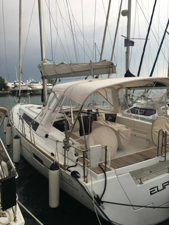 Boat rental Corfu cheap Oceanis 45