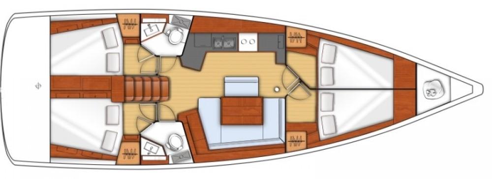Boat rental Bénéteau Oceanis 45 in Corfu on Samboat