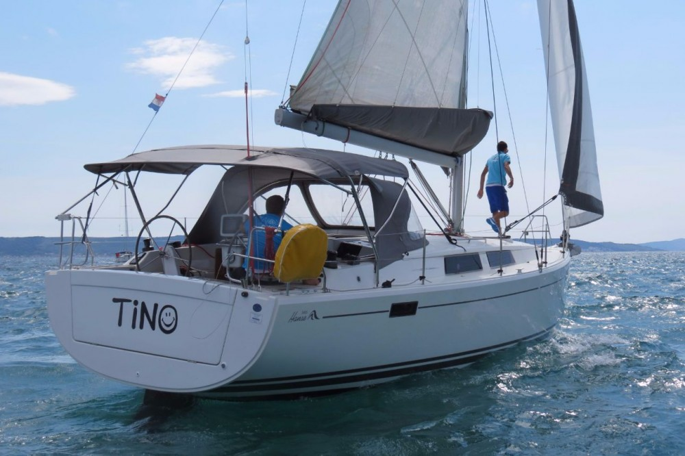 Hanse Hanse 385 between personal and professional Croatia