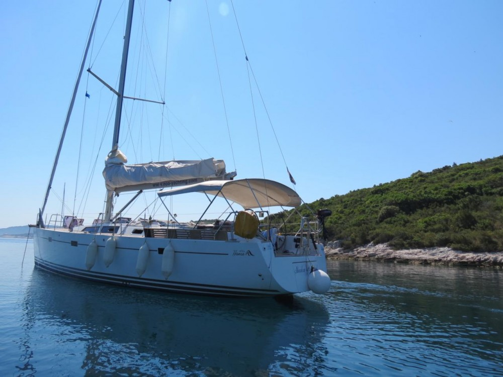 Rental yacht Croatia - Hanse Hanse 470 on SamBoat