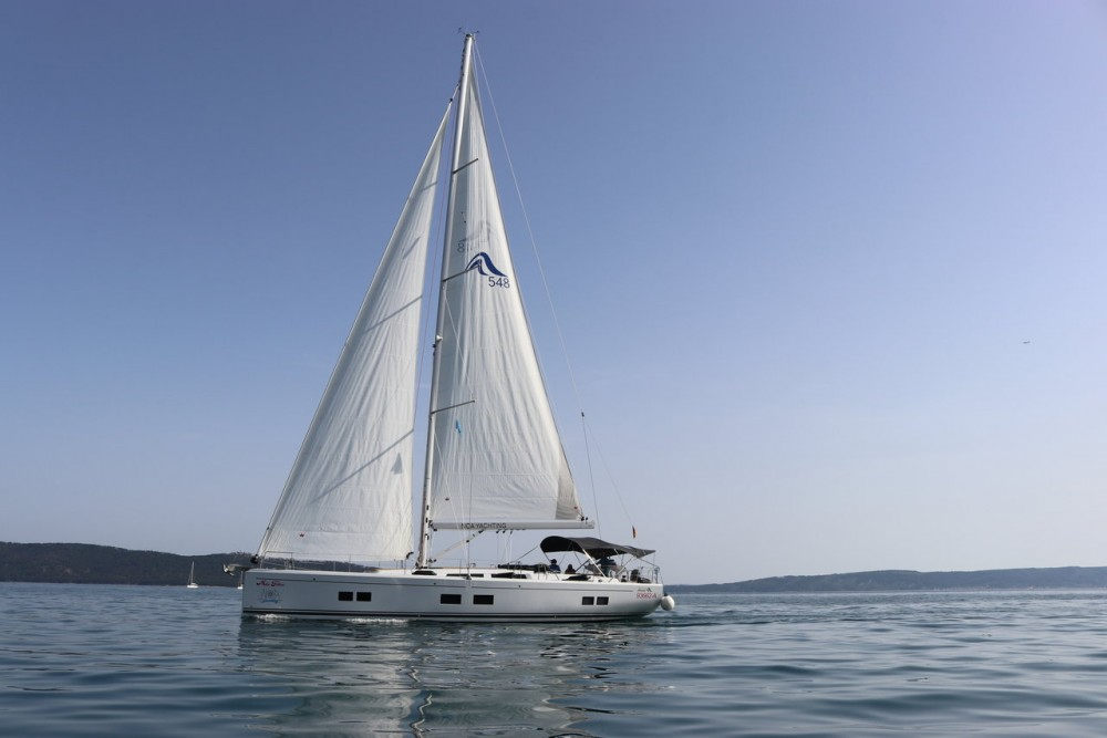 Rental Sailboat in Marina Kaštela - Hanse Hanse 548 - 4 + 1 cab.