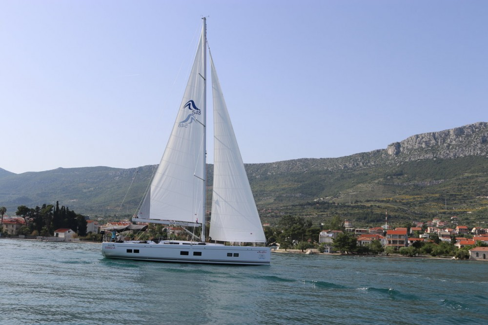 Boat rental Marina Kaštela cheap Hanse 548 - 4 + 1 cab.
