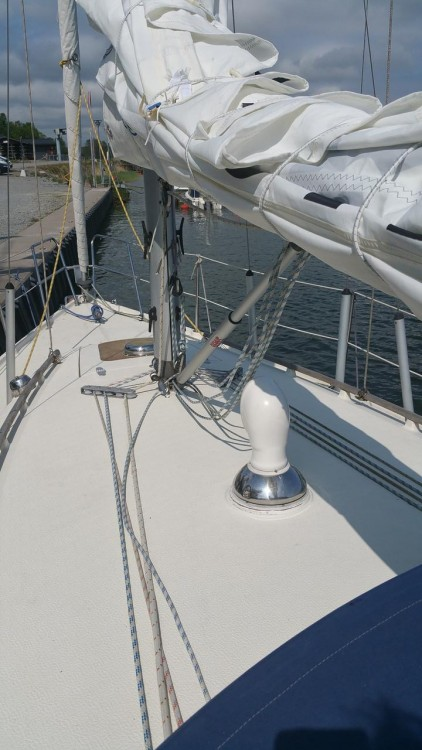 Rental Sailboat Comfort with a permit