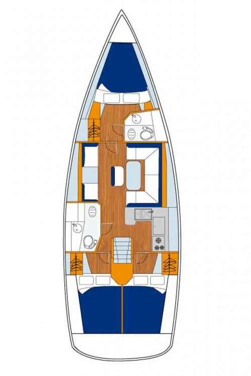 Boat rental Jeanneau Sun Odyssey 409 Performance in Croatie on Samboat