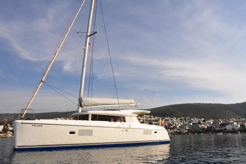 Boat rental Safir Sitesi cheap Lagoon 421