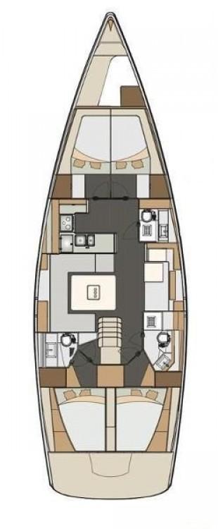 Boat rental Elan Elan Impression 50  in Fethiye on Samboat