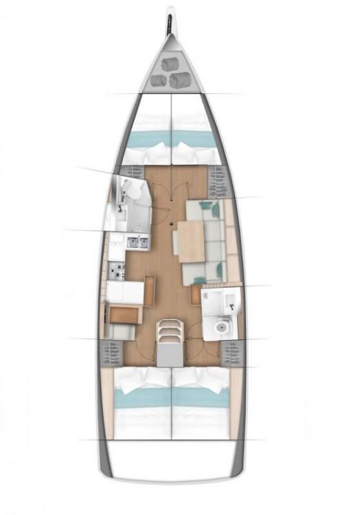Boat rental Fethiye cheap Sun Odyssey 440