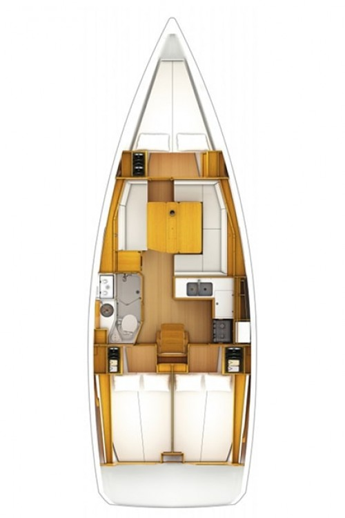 Rental Sailboat in Corfu - Jeanneau Sun Odyssey 389