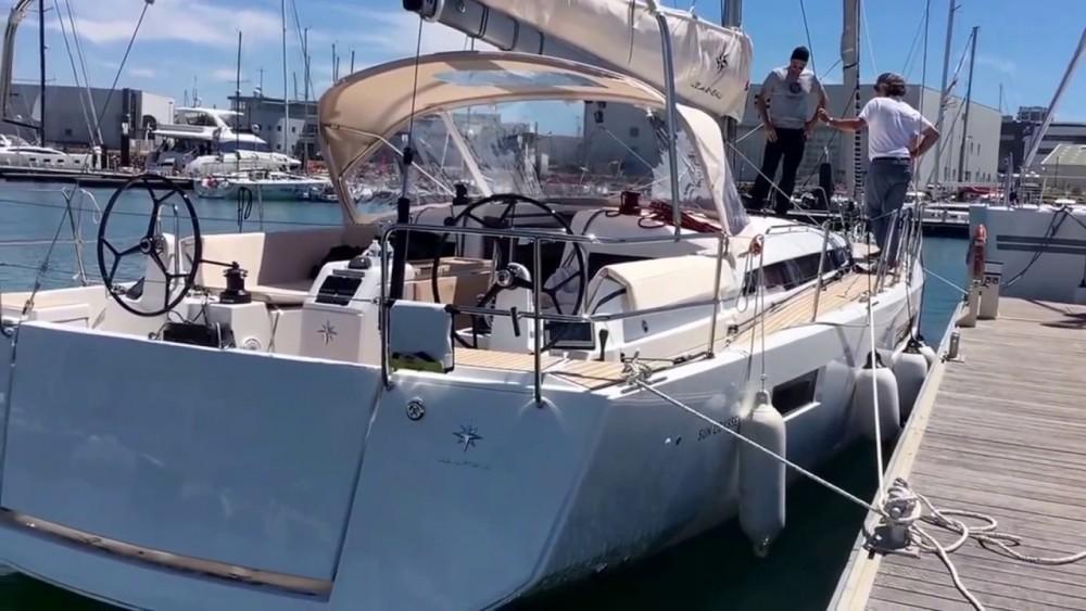 Rent a Jeanneau Sun Odyssey 440 Corfu