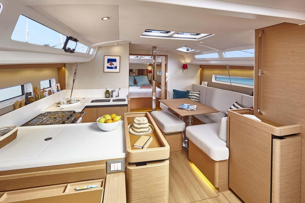 Hire Sailboat with or without skipper Jeanneau Corfu