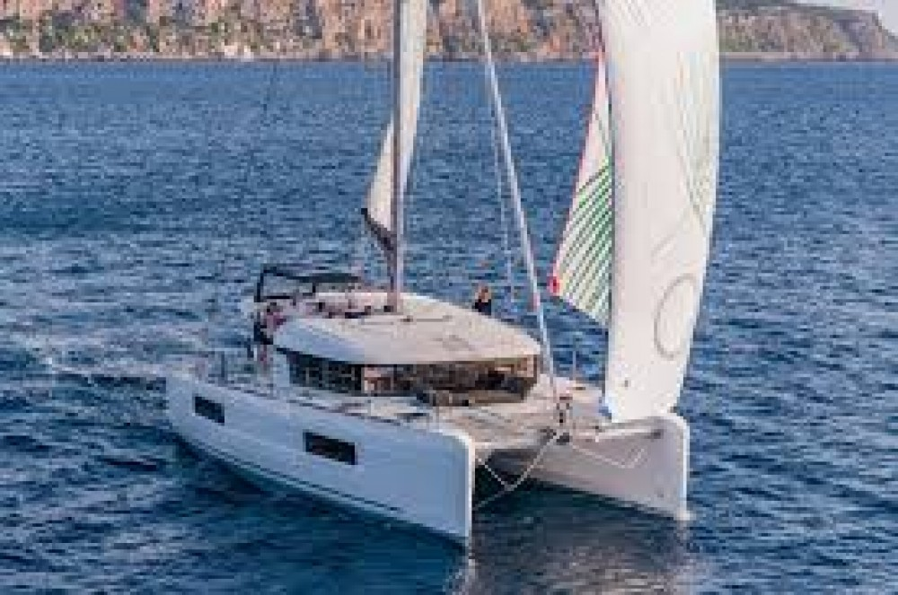 Boat rental Seget Donji cheap Lagoon 40 - 4 + 2 cab