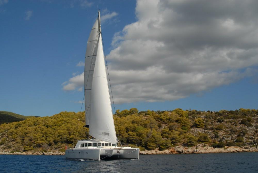 Boat rental Peloponnese cheap Lagoon 500