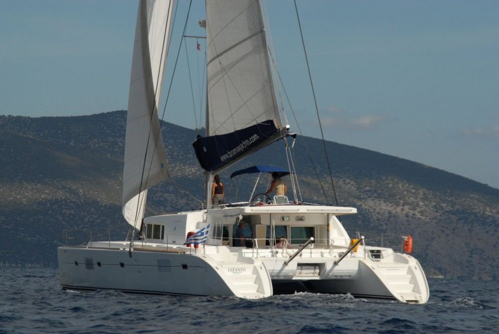 Lagoon Lagoon 500 between personal and professional Peloponnese