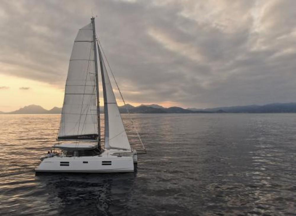 Rental Catamaran in Seget Donji - Nautitech Rochefort Nautitech 40 Open - 3 + 1 cab.