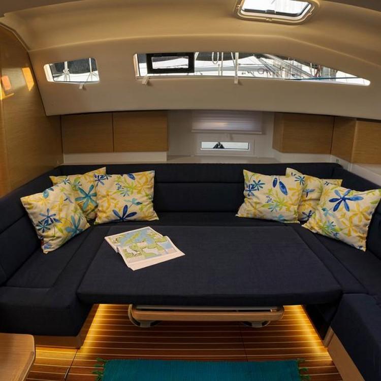Boat rental Split cheap Elan 49