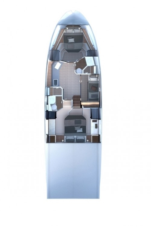 Rental Motor boat Azimut-Benetti-Yachts with a permit