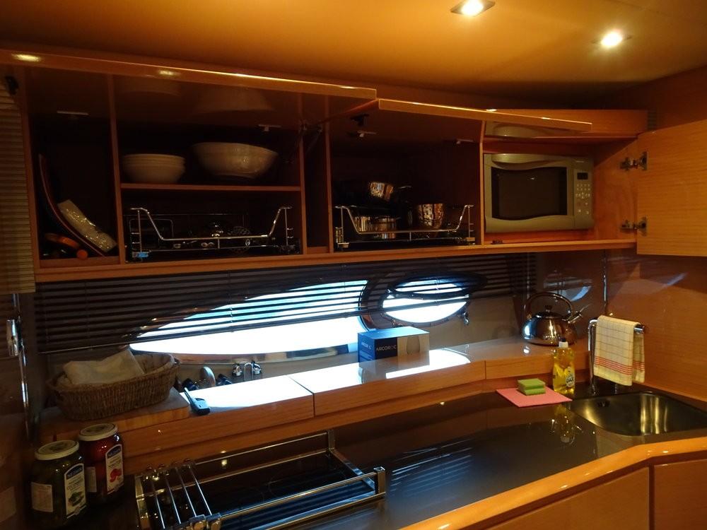 Boat rental Podstrana cheap Azimut Atlantis 50