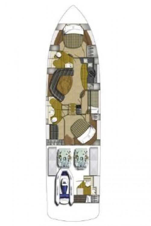 Rental yacht Split - Fairline-Boats Fairline Targa 62 GT - 3 + 1 cab. on SamBoat