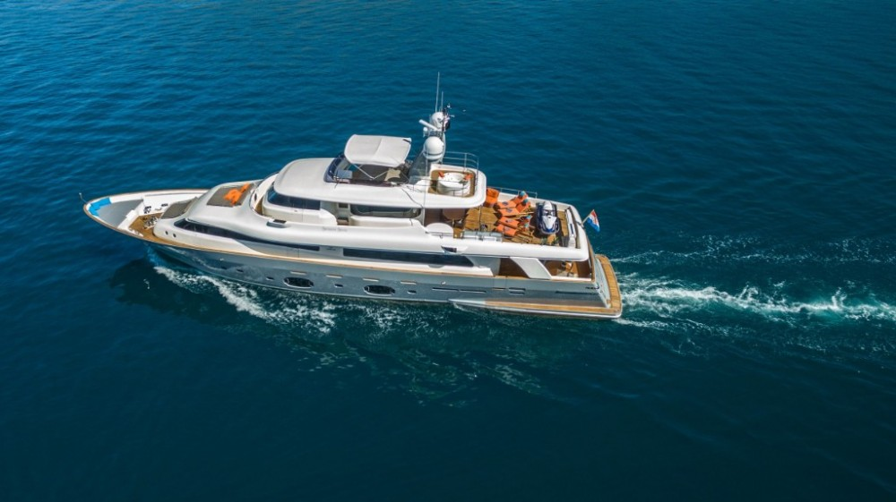 Hire Yacht with or without skipper Ferretti-Yachts-Group Trogir
