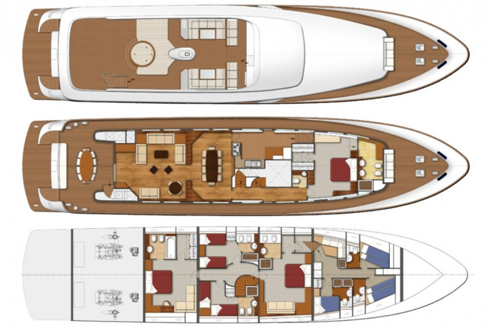 Yacht for rent Trogir at the best price