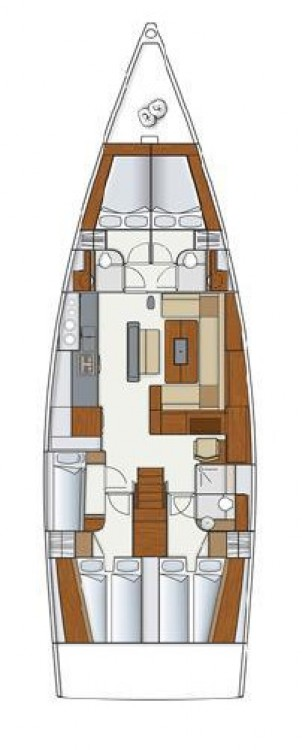 Hire Sailboat with or without skipper Hanse Grad Pula