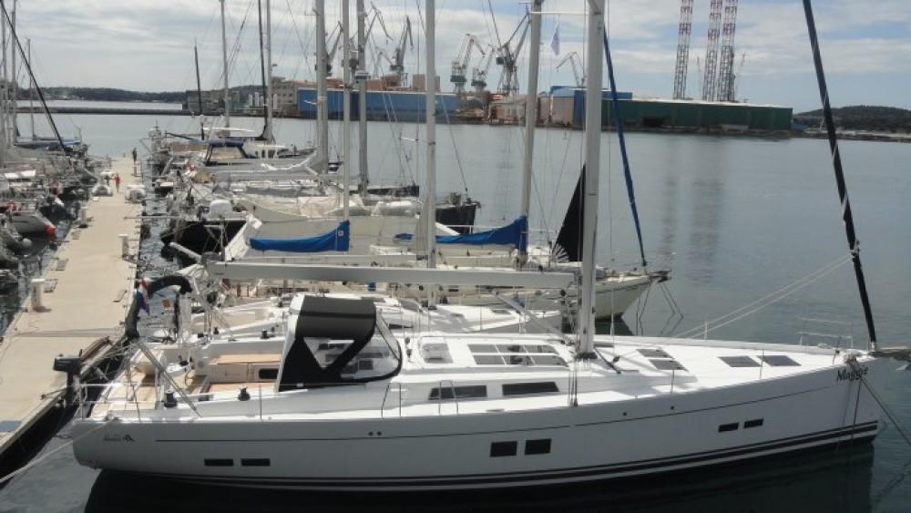 Rental Sailboat in Grad Pula - Hanse Hanse 575