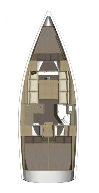 Rental yacht Općina Sukošan - Dufour Dufour 350 Grand Large on SamBoat