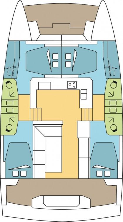 Rental yacht  - Catana Bali Catspace on SamBoat