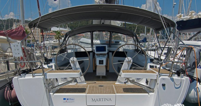 Rental yacht Split - Hanse Hanse 418 on SamBoat