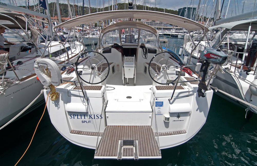 Jeanneau Sun Odyssey 439 between personal and professional Split