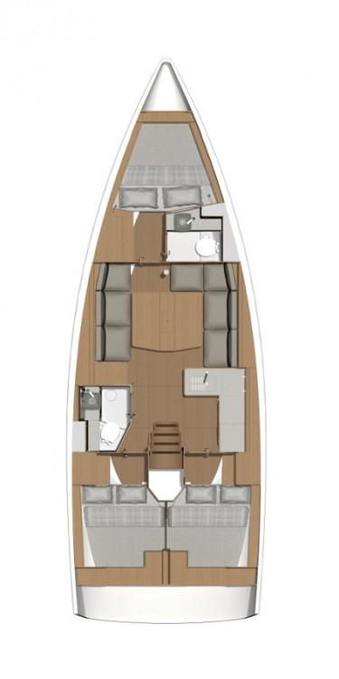 Rental yacht Peloponneso - Dufour Dufour 390 GL on SamBoat