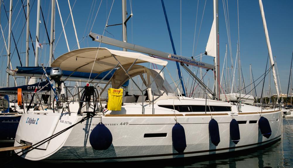 Rental yacht Peloponnese - Jeanneau Sun Odyssey 449 on SamBoat