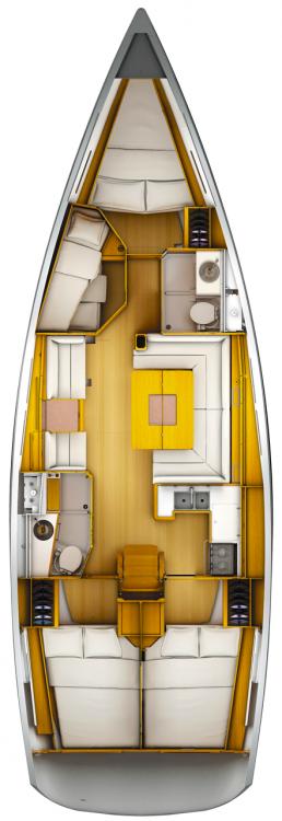 Rent a Jeanneau Sun Odyssey 449 Péloponnèse