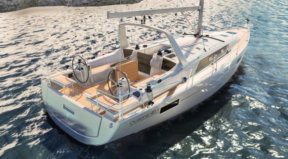 Boat rental Fethiye cheap Oceanis 411