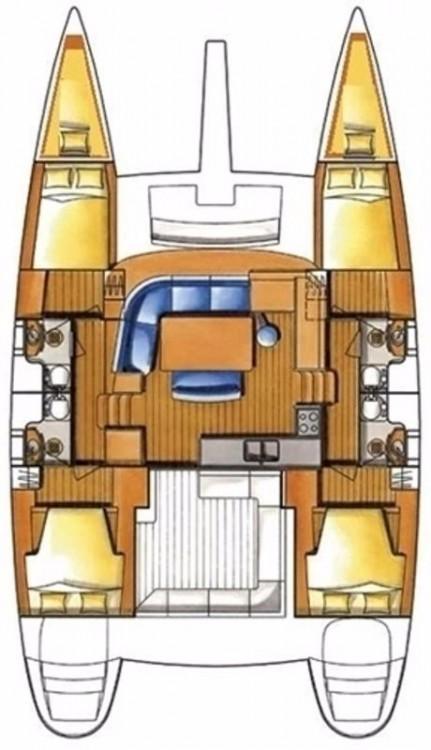 Rental yacht Peloponnese - Lagoon Lagoon 400 - 4 + 2 cab. on SamBoat