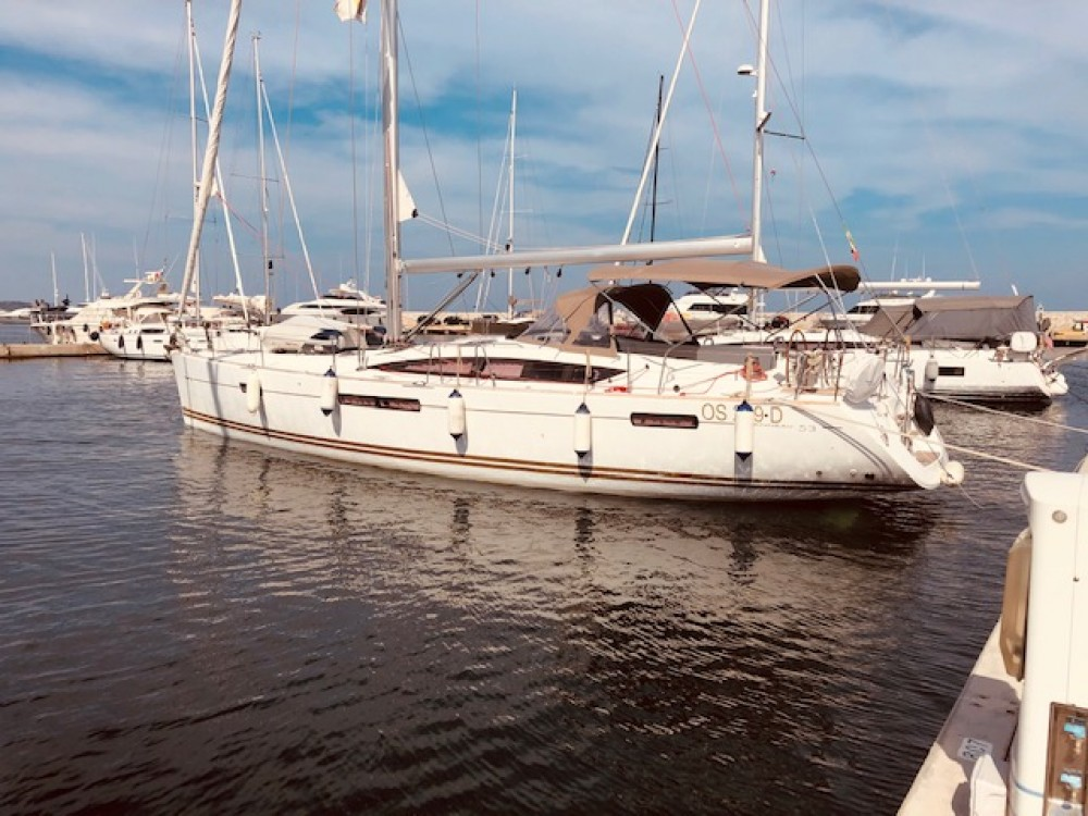 Rental Sailboat in Terranoa/Olbia - Jeanneau Jeanneau 53