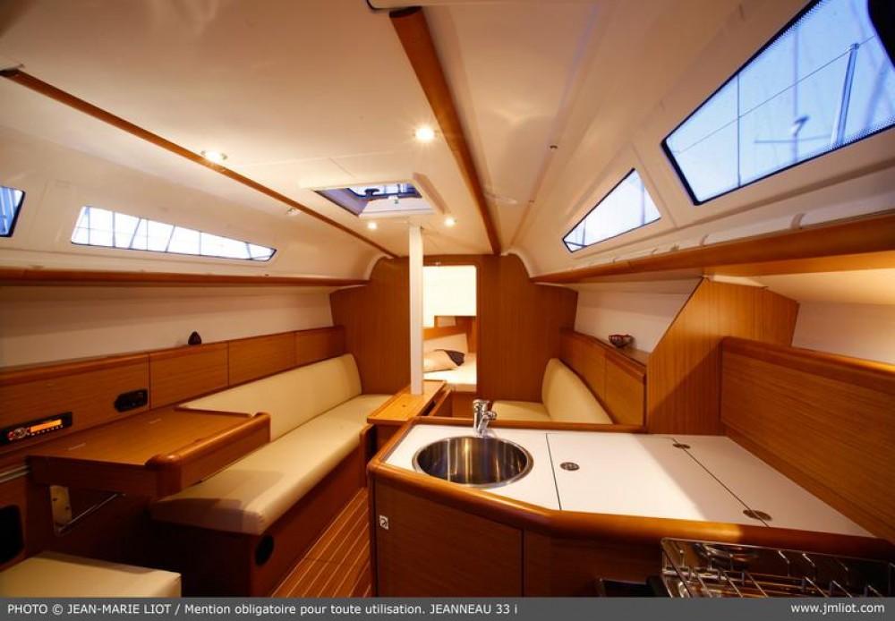 Boat rental Sardinia cheap Sun Odyssey 33i