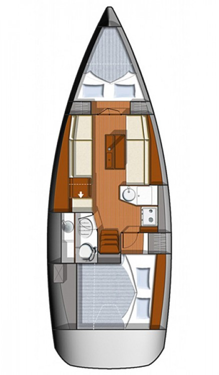 Jeanneau Sun Odyssey 33i between personal and professional