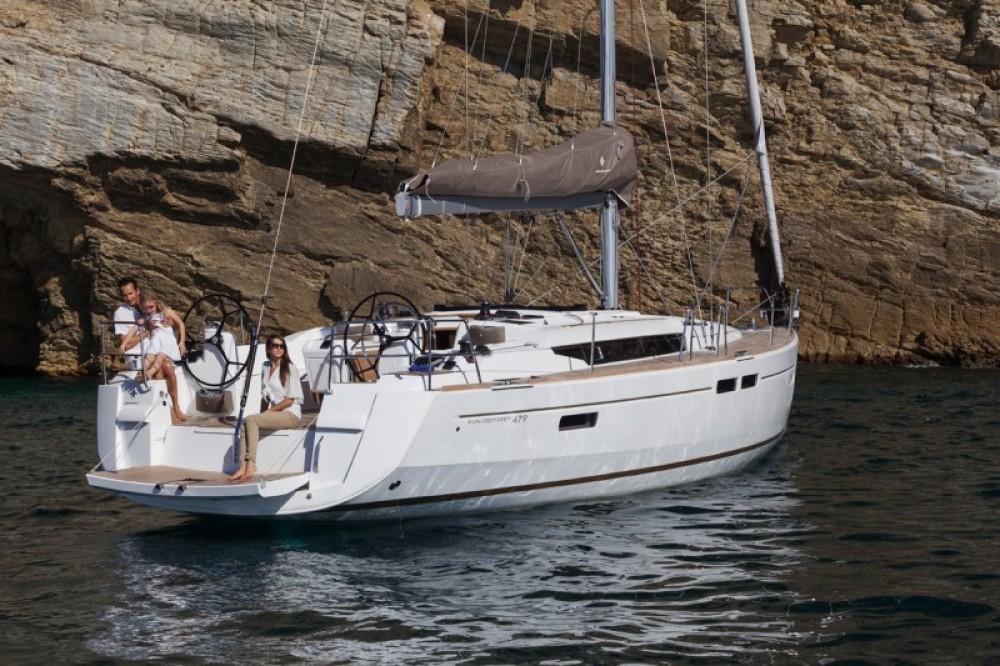 Boat rental Peloponnese cheap Sun Odyssey 469