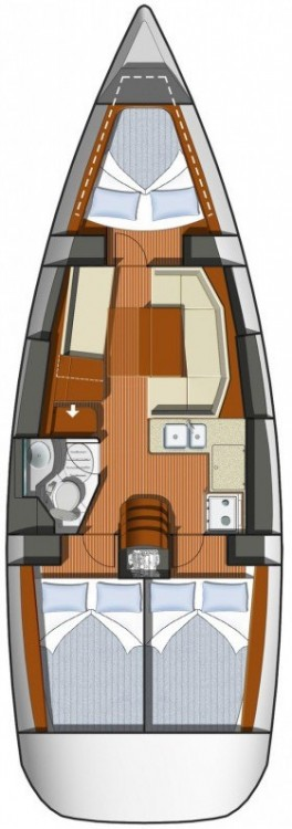 Jeanneau Sun Odyssey 36i Performance between personal and professional Sardinia