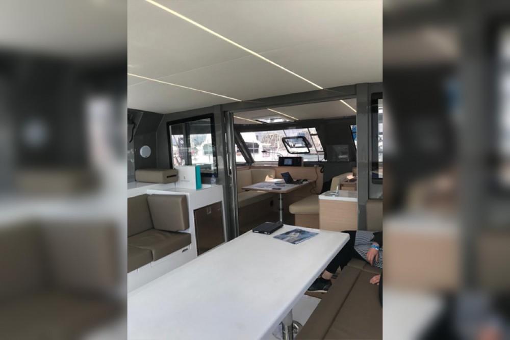 Rental Catamaran in Cagliari - Nautitech Rochefort Nautitech 40 Open - 4 + 1 cab.