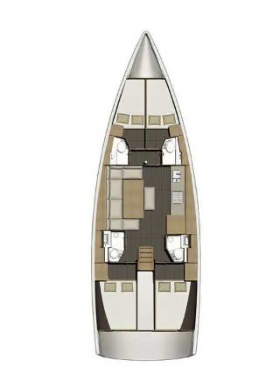 Dufour Dufour 460 GL between personal and professional