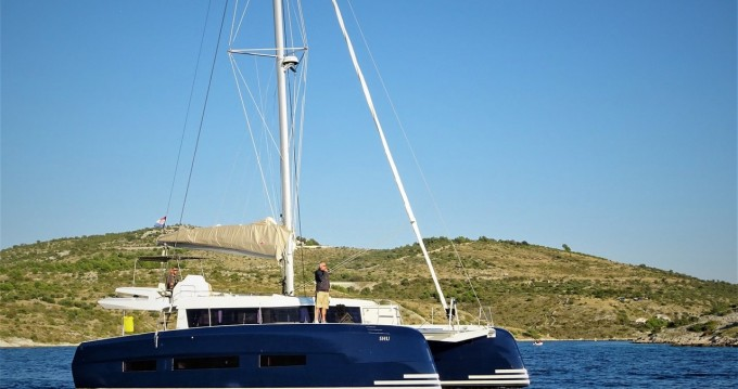 Rental Catamaran Dufour with a permit