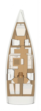 Rental Sailboat in Primošten - Dufour Dufour 520 GL - 3. cab